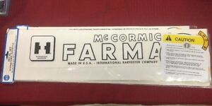 Ih Farmall Mccormick H Decal Set Ihch 12 Piece Calco C63516 Super M