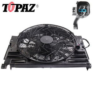 Fit 00 06 Bmw E53 X5 5 Blade A C Ac Radiator Condenser Cooling Fan 64546921381