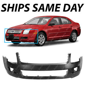 New Primered Front Bumper Cover Fascia For 2006 2007 2008 2009 Ford Fusion 06 09