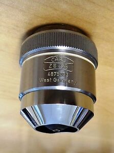 Carl Zeiss Epiplan Hd 80x Reflected Light Microscope Objective