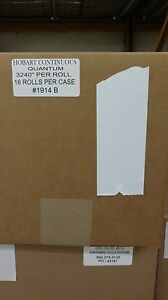Hobart Quantum Continuous Blank Scale Labels Best Price Overall