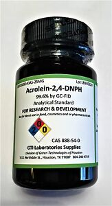 Acrolein 2 4 dnph 99 6 By Gc fid Analytical Standard 25mg