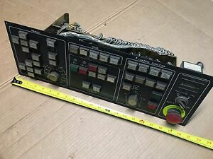 Fanuc A04b 0218 c201 Elox Wire Cut Edm Operator Interface Panel