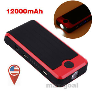 12000mah 15v Car Jump Starter Portable Auto Battery Charger Power Bank Booster Q