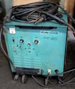 Mig tig spot stick Welder With 3 Guns Single Phase Air Products Mig 185