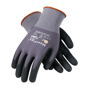 Pip Maxiflex Gtek Ultimate Nitrile Foam Coated Gloves 12 Pair 34 874 lg Large