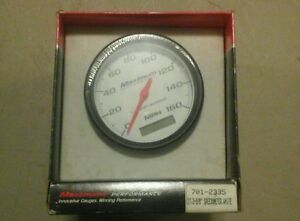 Stewart Warner Maximum Performance Series Speedometer 114705