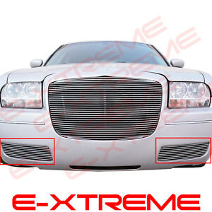Billet Grille Grill For Chrysler 300 2005 06 07 08 09 2010 Bumper Bolt Over