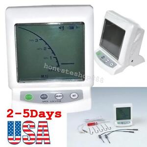 Lcd Screen Dentist Dental Apex Locator Root Canal Finder Endodontic Measure Tool