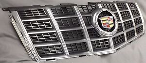 20995556 2012 2014 Cadillac Cts Oem Chrome With Black Mesh Grille New