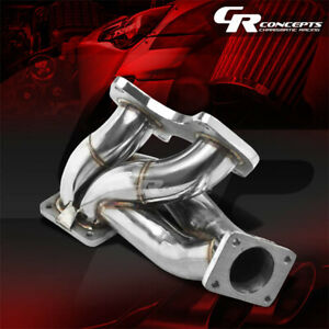 For 93 98 Mazda Rx7 Fd3s 13b T4 Td07 Stainless Racing Turbo Charger Manifold Kit