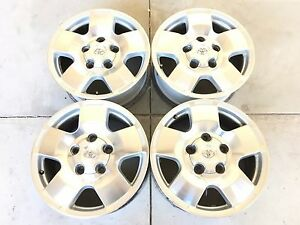 18 18 Inch Toyota Tacoma Tundra Oem Wheels Rims Factory 4set 4 Set Price Drop