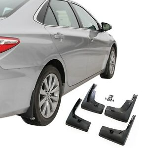 Fits Camry Mud Flaps 2015 2017 Mud Guards Splash Protectors 4pc Set Front Rear