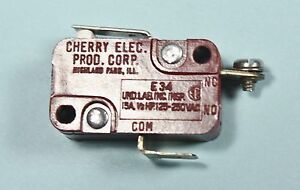1964 1965 Corvette Fuel Injection Cherry Microswitch Made W Nos Cherry Parts