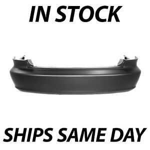 New Primered Rear Bumper Cover For 1998 1999 2000 2001 2002 Honda Accord Sedan