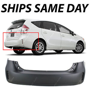 New Primered Rear Bumper Cover For 2012 2013 2014 2015 2016 2017 Toyota Prius V