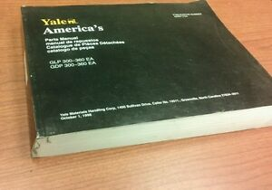 Yale Forklift Parts Manual Glp gdp 300 360 1753 520371753