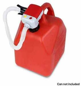Tera Pump Battery Operated High Powered Fuel Gas Transfer Pump Auto Stop Trfa01