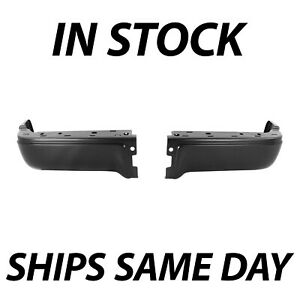 New Primered Drivers Passengers Steel Rear Bumper Ends For 2009 2014 Ford F150