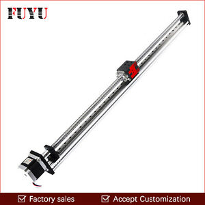 Factory Sale Ball Screw 700mm Stroke Linear Motion Guide For Cartesian Robot Cnc