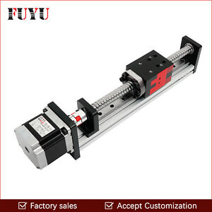 150mm Stroke Ball Screw Linear Motion Guide Cnc Actuator Slide Rail Stepper