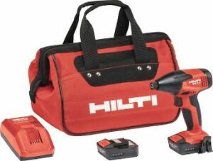 Hilti Sid 2 a Kit Cordless System Brand New