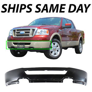 New Primered Steel Front Bumper Face Bar For 2006 2007 2008 Ford F150 Truck