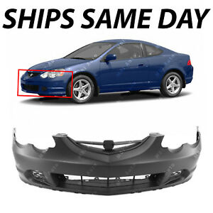 New Primered Front Bumper Cover Replacement For 2002 2003 2004 Acura Rsx