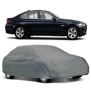U A A Inc Premium Small Universal Gray Weather Resistant Car Cover