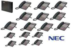 Nec Dsx40 Phone System 10 34b 6 22 Button Display Phones Dsx