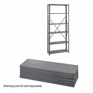 Industrial Steel Shelving Shelf Pack 36 X 12 qty 6
