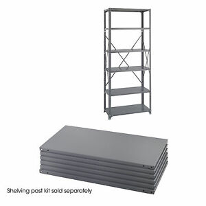 Industrial Steel Shelving Shelf Pack 36 X 18 qty 6