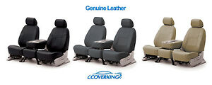 Coverking Genuine Leather Custom Seat Covers For Ford Econoline Van