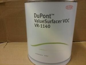 Dupont 2k Voc Value Surfacer Vr 1140 3 5 Litre Easy Primer Filler 6 1