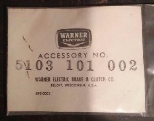 8 Warner Electric Terminal Assembly Kits Part 5103 101 002