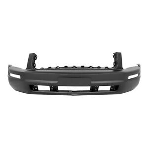 New Primered Front Bumper Cover Replacement For 2005 2009 Ford Mustang Base