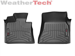 Weathertech Floor Mats Floorliner For Bmw X5 x5 M x6 x6 M 1st Row Black
