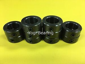 10pcs 2 Shaft Collar Black Oxide Finish Suitable For Welding Bsc 200