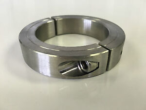 1pc 2 3 8 Inch Stainless Steel Double Split Shaft Collar 2ssc 237