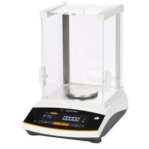 Sartorius Entris124 1s Analytical Lab Balance 120 X 0 0001 G External Cal New