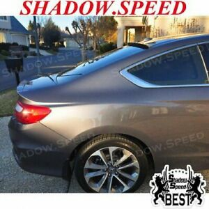 Stock 280 Brs Type Rear Window Roof Spoiler For Honda Accord Lx Ex Coupe 2013 17