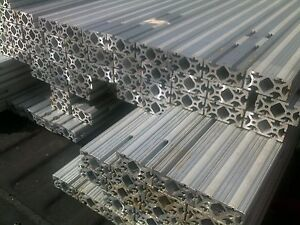 Aluminum Extrusion Extruded 8020 Channel Profile T Slot