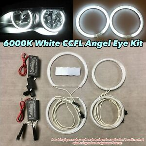 Xenon White 6000k Ccfl Angel Eye Halo Ring Kit For 92 98 Bmw E36 2d 4d M3 325i