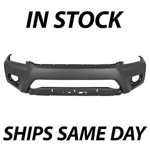 New Primered Front Bumper Cover For 2012 2013 2014 2015 Toyota Tacoma Pickup