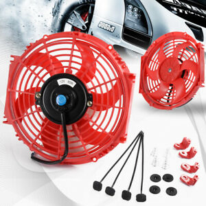 Universal 10 Slim Performance Radiator Engine Cooling Fan Mounting Kit