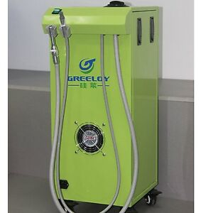 Dental 400l m 450w Portable Dental Vacuum Suction Unit Vacuum Pump For Clinic