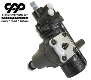 58 64 Chevy Impala Cpp 500 Series Quick Ratio Power Steering Gear Box New