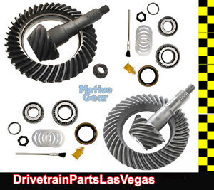 Ford 9 75 8 8 Ifs 4 11 Ratio Ring And Pinion Gear Set Pkg W Pk Install Kits