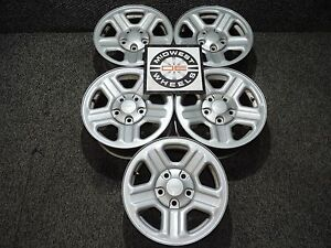 2007 2017 Jeep Wrangler 16 Factory Oem Wheels Grand Cherokee 1999 2004 6 Cyl X5