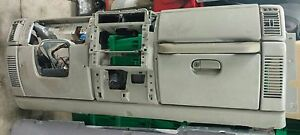 2005 Jeep Wrangler Tj Complete Dash Assembly Khaki Airbag Oem